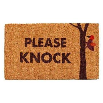 Home & More Please Knock Outdoor Doormat