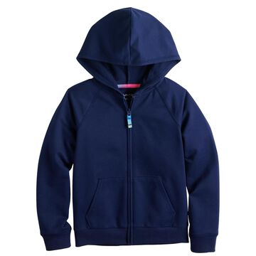 Girls 4-12 Jumping Beans French Terry Zip-Up Hoodie