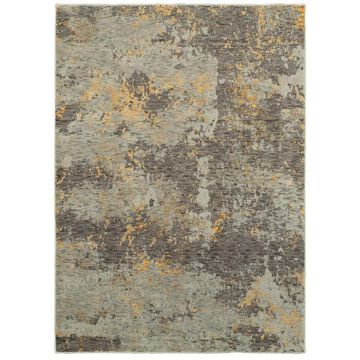 Archer Lane Madison 3 x 5 Gray Indoor Abstract Area Rug | 802EVL5B4L