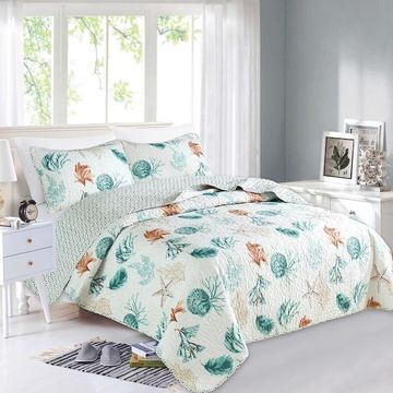 Home Fashion Designs Key West Collection Quilt Set