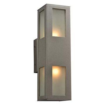 Plc Lighting 2 Light Outdoor Fixture Tessa Collection 8041 Bz