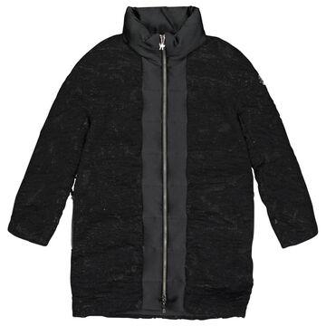 Moncler Black Wool Coats