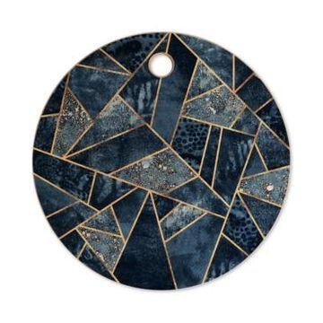 Deny Designs Elisabeth Fredriksson Blue Stone Cutting Board