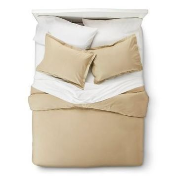 400 Thread Count Hemstitch Solid Duvet Cover Set 3pc - Elite Home Products