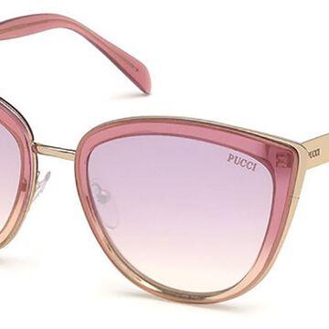 Emilio Pucci EP0092 74G Womenas Sunglasses Pink Size 55