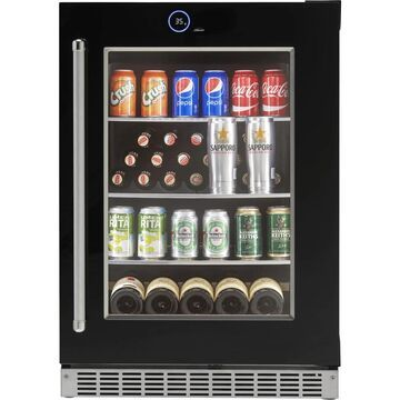 Danby Silhouette Reserve Beverage Cooler w/ Invisi-touch Display - Right Hinge