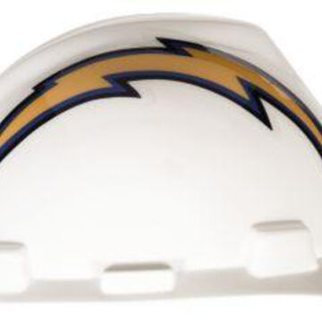 MSA Safety 818408 NFL V-Gard Protective Cap - San Diego Chargers