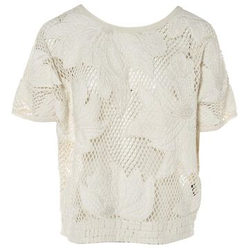 Isabel Marant Etoile \N Ecru Cotton Tops