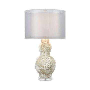 Dimond Lighting Portonovo White Table Lamp