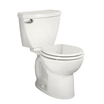 American Standard Cadet 3 White Round Standard Height 2-Piece WaterSense Toilet 10-in Rough-In Size | 270DB101.020