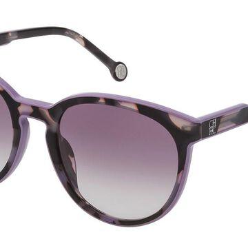 Carolina Herrera SHE793 09QA Men's Sunglasses Tortoise Size 53