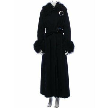 Wool Faux Fur Coat Wool