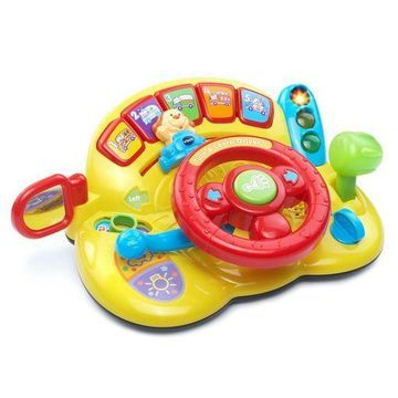 VTech Turn and Learn Driver Steering Wheel Toy Fun Baby Car Toy New