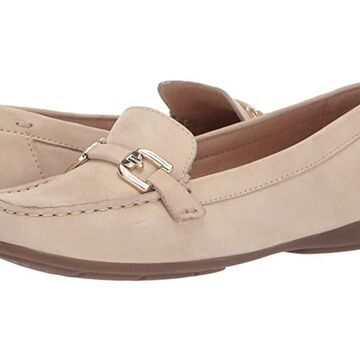 Geox Annytah Moc 1 (Light Taupe) Women's Shoes