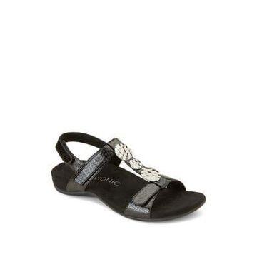 Farra Lizard Sandals