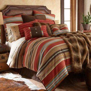 HiEnd Accents 4-Piece Calhoun Bedding Set, Twin