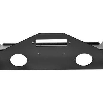 2021 Jeep Wrangler Bestop HighRock 4x4 Narrow Front Bumpers in Matte Black