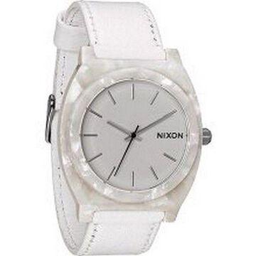 Nixon A328-1029 Time Teller Men White Watch