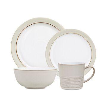 Natural Canvas Dinnerware Collection 16-Pc. Dinnerware Set