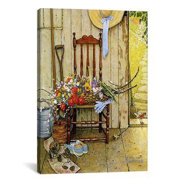 Icanvas Spring Flowers Canvas Art