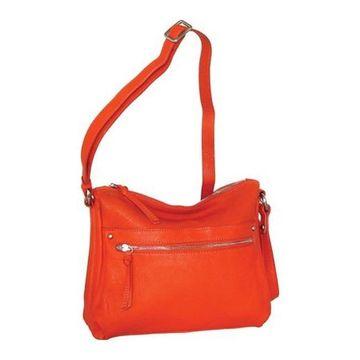 Nino Bossi Women's Lidia Crossbody Bag Tangerine - US Women's One Size (Size None)