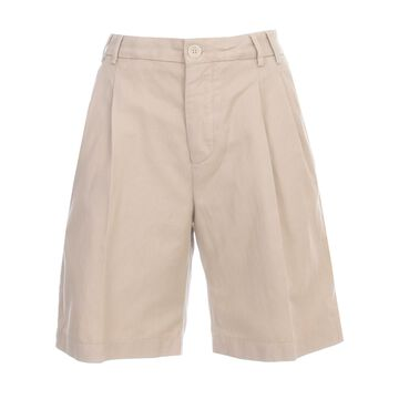 Aspesi Shorts Cotton And Linene