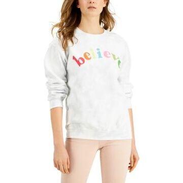Junk Food Believe Cotton Tie-Dye Sweatshirt