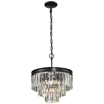 ELK Lighting Palacial Chandelier - Color: Clear - Size: Small - 14212/3+1