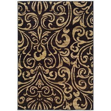 Oriental Weavers of America Darwin, Black