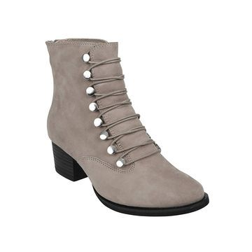 Earth Shoes Womens Doral Closed Toe Ankle Fashion Boots