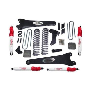 Tuff Country T1C-24997 Complete Lift Suspension Kit without Shock for 2011 BMW 528i, Black