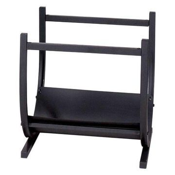 Uniflame Black Wrought Iron Log Rack