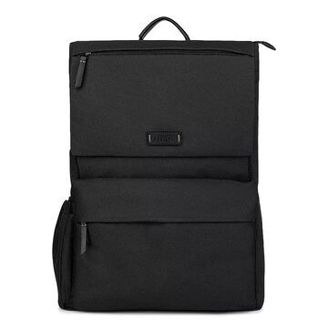 Bugatti Reborn Collection Recycled RFID-Blocking Backpack, Black