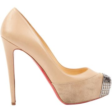 Christian Louboutin Beige Leather Heels