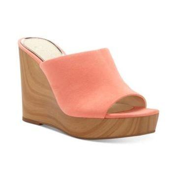 Jessica Simpson Shantelle Slide Wedge Sandals Women's Shoes