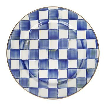 MacKenzie-Childs - Royal Check Charger/Plate