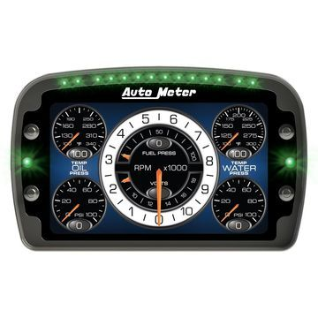 AutoMeter 6021 LCD Competition Drag Dash