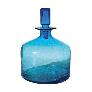 Dimond Home Pool Blue Decanter (Small)