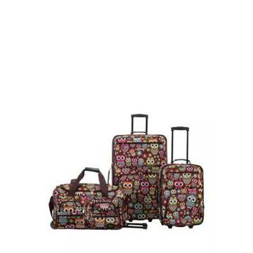 Rockland 3 Piece Expandable Luggage Set -