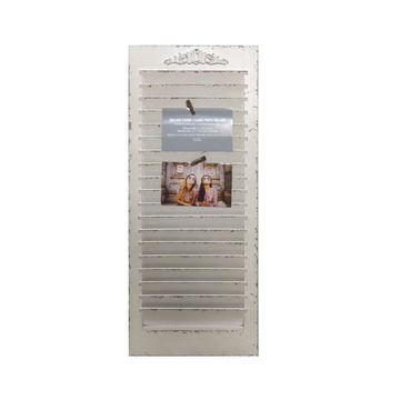 White Window Shutter Frame, Collage by Studio Decor