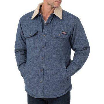 Men's Jacquard Sherpa Shirt Jacket