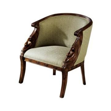 Design Toscano Due Cigno Tub Chair