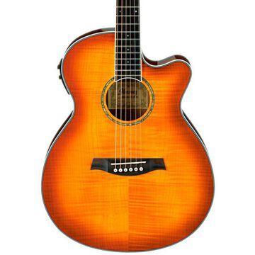AEG20II Flamed Sycamore Top Cutaway Acoustic-Electric Guitar