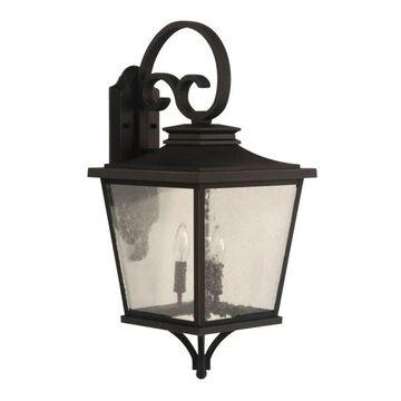 Craftmade Tillman 3-Light Outdoor Wall Light in Dark Bronze Gilded