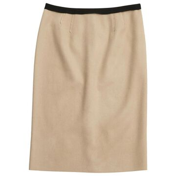 Nina Ricci Black Wool Skirts