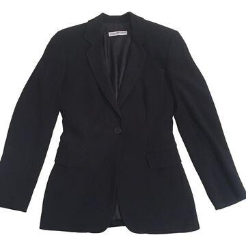 Emporio Armani Navy Viscose Jackets