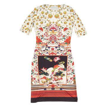 Mary Katrantzou Red Silk Dresses