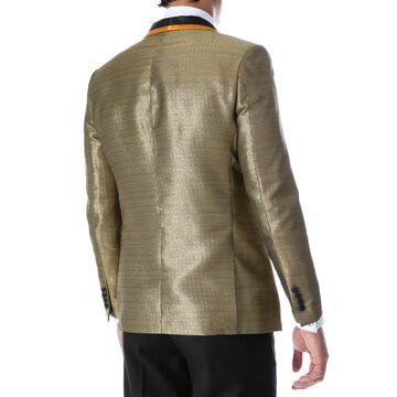Ferrecci Mens Webber Premium Pattern Shawl Slim Fit Tuxedo Blazer