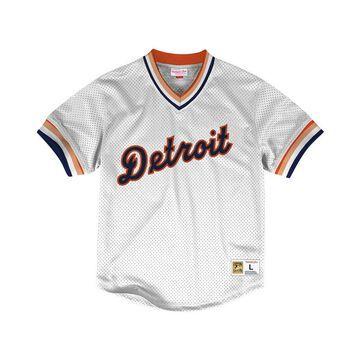 Men's Detroit Tigers Mesh V-Neck Jersey