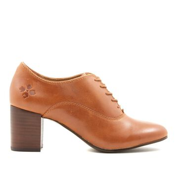 Patricia Nash Mara Block-Heel Leather Oxford